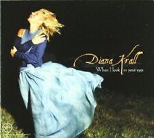 DIANA KRALL - WHEN I LOOK IN YOUR EYES  CD 13 TRACKS JAZZ  NEU