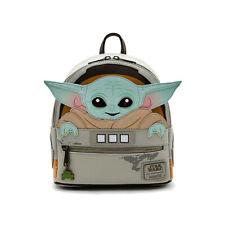 Loungefly Disney Mandalorian The Child Cradle Mini Backpack Baby Yoda