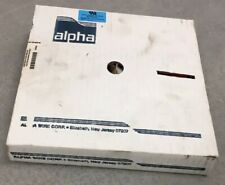 Alpha Wire 3580/26 Ribbon Cable, 28 AWG