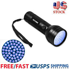 UV Ultra Violet 51 LED Flashlight Blacklight Light 395nm Inspection Lamp Torch