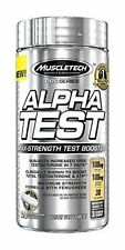 Muscle Tech Pro Series Alpha Test Release Dietary Supplement Capsules 120 count