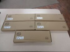 Lot of 5 NEW Dell Keyboard KB216 USB 104 **DISTRESSED BOX SEE PICS/ DESCRIPTION*