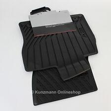 Original Audi A3 8V Gummimatten Gummi Fußmatten Satz Vorne mit Schriftzug NEU