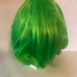 Neon Green Anime Cosplay Wig Synthetic Reshape