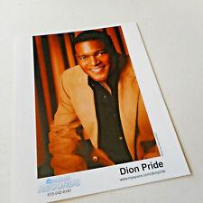 Dion Pride Color Publicity Photo