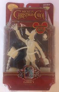 Disney Holiday Mickey's Christmas Carol Goofy Marley's Ghost Figure Glow in Dark