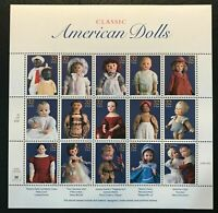 1997 Scott #3151 - 32¢ Classic American Dolls - Full Sheet of 15 Stamps - MNH