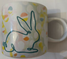 Starbucks Spring 2019 Easter Bunny Rabbit Ceramic Coffee Cup Mug Limited Edition