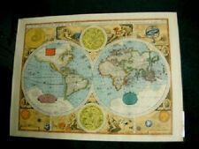 A NEW AND ACCVRAT MAP OF THE WORLD REPRODUCED BY RAND MCNALLY BY JOHN SPEED