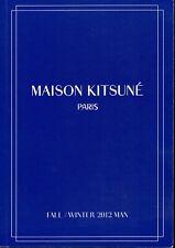 Boutique Maison Kitsune Paris Fall/Winter 2012 Man Catalog