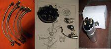 TRIUMPH GT6 (Mk1 & Mk2)  Cap Points Rotor Arm Coil Leads IGNITION SET (1966- 70)