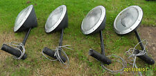 4 X Abacus Street Drive Garden Security Lamp Posts Lights