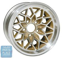 1976-81 Pontiac Firebird / Trans Am Gold Snowflake Wheel - 15 x 8