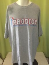 BJ Penn Prodigy Men's Gray T Shirt Size 4XL Made in USA Has Stains and Rips