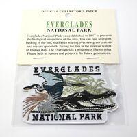 Official Everglades National Park Souvenir Patch Florida Bay Alligator