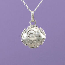 """925 Sterling Silver """" Angel Caller""""  18""""/20"""" Pendant A912"""