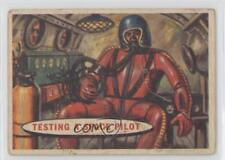 1957 Topps Space Cards #11 Testing a space pilot Non-Sports Card 0s4