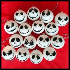 Nightmare Before Christmas Jack Skellington Faces Christmas XMAS Tree Baubles X6