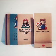 Club Nintendo 2015 calendar Japan Original
