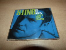 STING - I'M SO HAPPY CAN'T STOP CRYING EURO ONLY SLIM CD