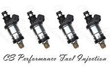Flow Matched Fuel Injector Set for Honda  1.7 1.8 I4 OBD1  (4)