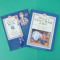 American Girl Molly Doll Craft Book Kit Pleasant Company Complete