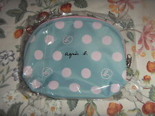 Brand New Agnes B Turquoise makeup pouch *Free Post