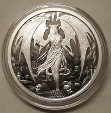 2016 Temptation of the Succubus 2oz Silver Proof Round Coin