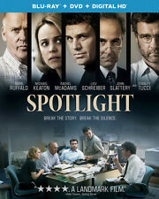 Spotlight - 2 DISC SET (2016, REGION A Blu-ray New)