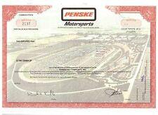 Selten:  Penske Motorsport    Daytona  Indy - Car   NASCAR