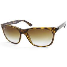 Ray-Ban Highstreet RB4181 710/51 Polished Havana/Brown Gradient Sunglasses