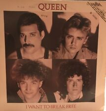 Queen, I Want To Break Free, Capitol V8590, 1984 Promotional Record