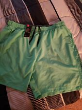 MENS NEW WITH TAGS XXL GREEN UNDER ARMOUR SWIM SHORTS.. NWT...LOOK!!!!.