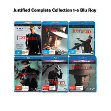 Justified Complete Collection 1-6 Blu Ray All Seasons 1 2 3 4 5 6 UK Rel New R2
