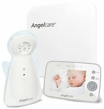 Angelcare AC1300 Digital Video, Movement And Sound Baby Monitor - White