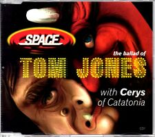 SPACE - CERYS MATTHEWS - BALLAD OF TOM JONES - 4 TRACK 1998 CD SINGLE 1