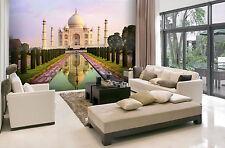 Papier peint photo mural 315x232cm Taj Mahal - Inde - chambre & salle à manger