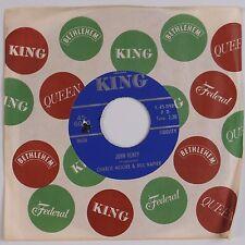 MOORE & NAPIER: John Henry / My Sweet Kentucky Mountain Home KING Bluegrass 45