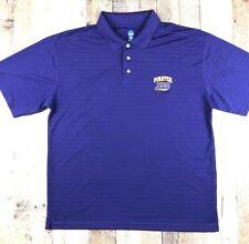 NCAA East Carolina Univ Pirates Purple Polyester Men's Shirt  Large