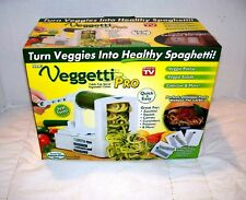 Veggetti Pro Table Top Spiral Vegetable Cutter As Seen on TV