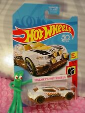 RALLY CAT 😸 white/brown/orange;10sp✰fifty✰5 HW DAREDEVILS✰2018 Hot Wheels A/D