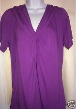NWT $64 Women's JONES NEW YORK Purple Blouse Top Shirt Size 0X ~14-16