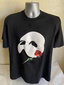 Vintage 80s PHANTOM OF THE OPERA Glow In The Dark T-Shirt Single Stitch Men's XL