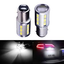 2x 1157 BAY15d 380 P21/5W 21 SMD 5730 LED Feux de freinage Blanc Stop Ampoules