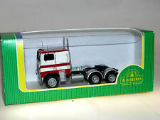 Kimmeria, White Freightliner Cabover COE ca. 1975, Tractor Unit, H0 1:87, Metal