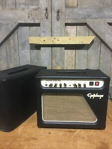 Epiphone Valve Special Electric Guitar Tube Amp Amplifier & Cover Reverb Delay