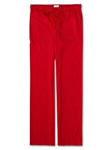 DEREK ROSE MENS TROUSERS - MEDIUM - JERSEY - RRP. £120 RED LOUNGE PJ BASEL PANTS