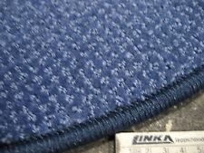 5349 runder Teppich 90 cm Kettelteppich rund blau Kräuselvelours robust günstig