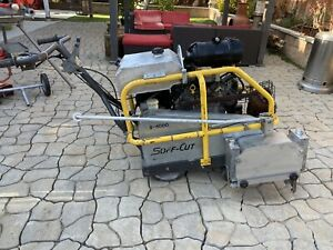 Soff-cut X4000 Early Entry Concrete Saw /no Husqvarna