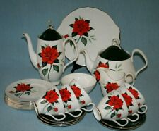 "Royal Albert ""Tahiti"" Coffee & Tea Set E Accessori Da Tavola-inglese BONE CHINA"